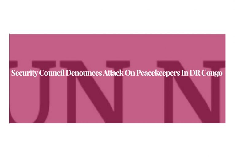 Security Council denounces attack on peacekeepers in DR Congo