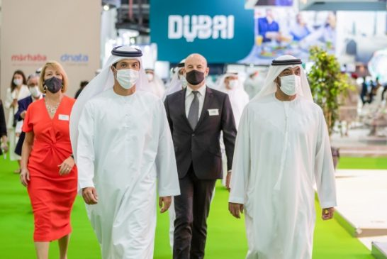 Ahmed bin Saeed opens Arabian Travel Market 2021