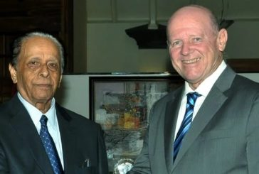 Alain St.Ange, President of the African Tourism Board expresses sympathy to the People of Mauritius as announcement of the death of former Prime Minister Sir Anerood Jugnauth is made official