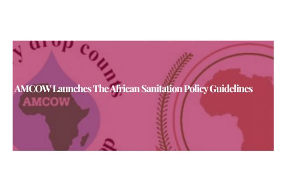 AMCOW launches the African Sanitation Policy Guidelines
