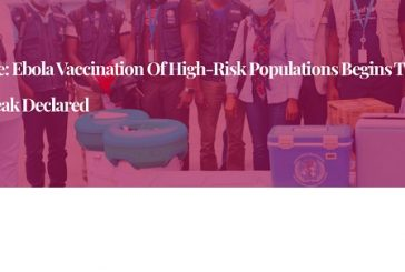 Côte d'Ivoire: Ebola vaccination of high-risk populations begins three days after outbreak declared