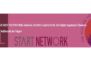 START NETWORK Selects ALIMA and GOAL in fight against Cholera outbreak in Niger