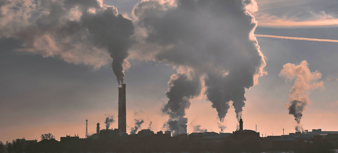 Air pollution from power plants contributes to global warming.