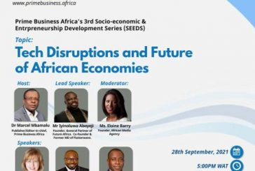 Prime Business Africa Picks Futterwave Co-founder, Aboyeji, Global Experts For Talk On Tech Disruptions