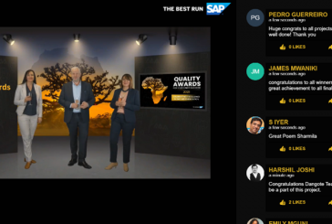 African enterprise excellence in digital transformation celebrated at SAP Quality Awards for Customer Success