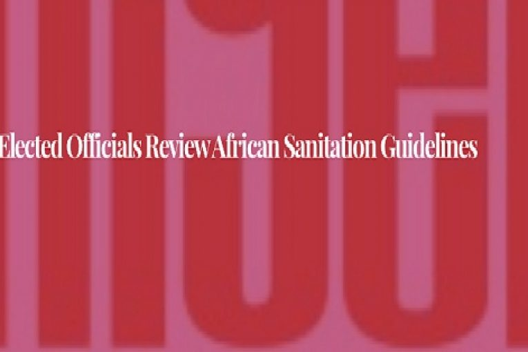 African Elected Officials Review African Sanitation Guidelines
